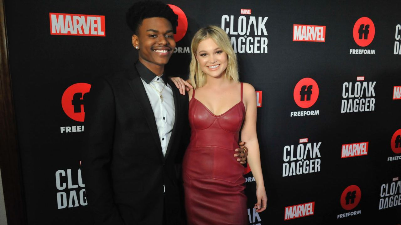 Olivia Holt e Aubrey Joseph parlano del crossover tra Cloak & Dagger e Runaways