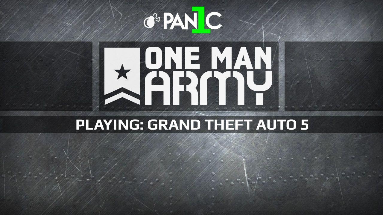 One Man Army con PAN1C: le rapine di GTA V protagoniste della puntata in onda stasera alle 21:00
