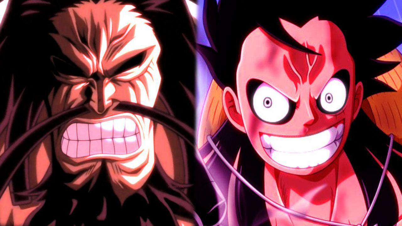 ONE PIECE 1001: Rufy contro Kaido, la battaglia ha inizio