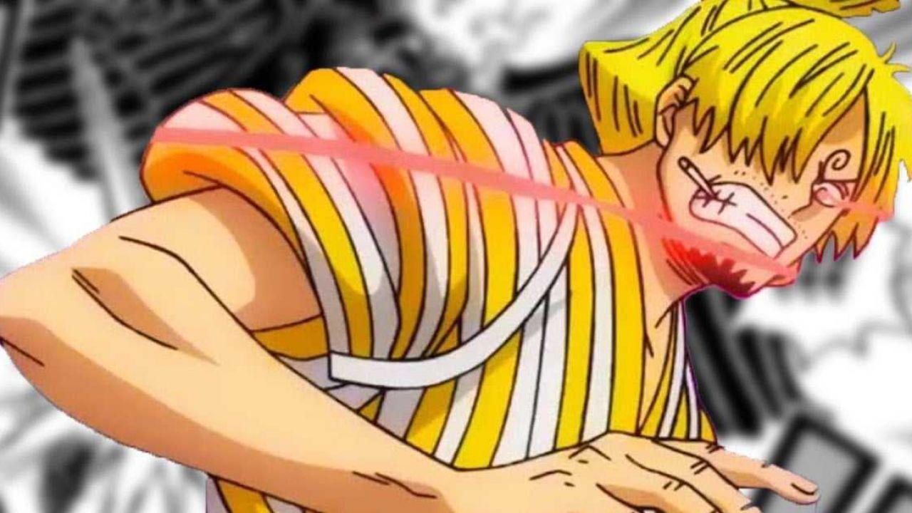 ONE PIECE 1005: Sanji è il protagonista di una sorprendente, e pietosa, scena