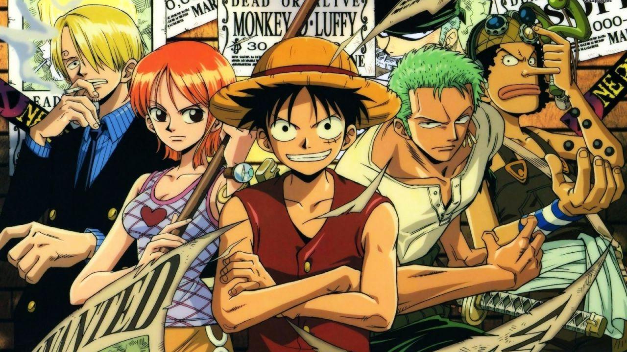 ONE PIECE: i 21 anni dell'anime celebrati in una bellissima foto dei doppiatori