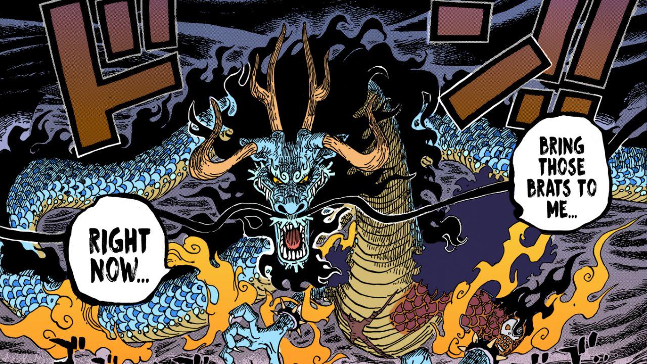 ONE PIECE 987: si parte all'assalto di Kaido nel nuovo capitolo del manga