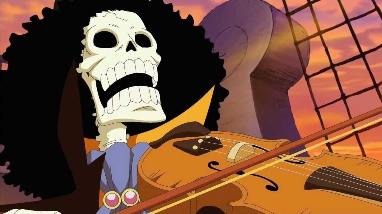 ONE PIECE, il countdown continua: la nuova illustrazione di Oda è dedicata a Brook