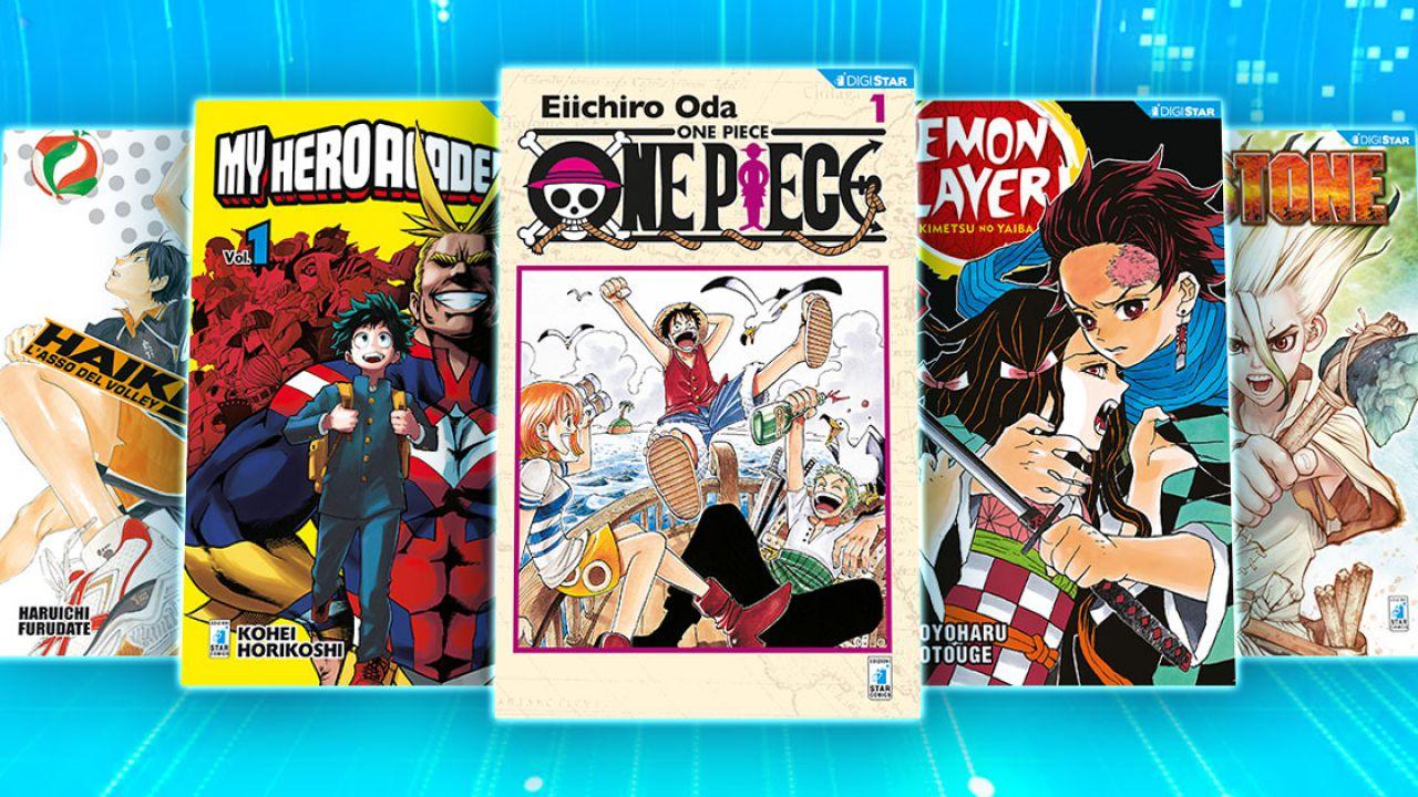 ONE PIECE, Demon Slayer e altri grandi manga gratis in digitale: l'annuncio di Star Comics