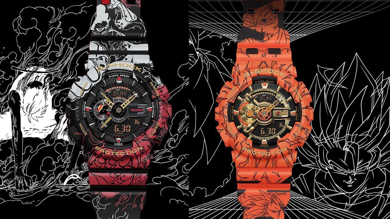 ONE PIECE e Dragon Ball protagonisti della nuova linea di orologi G-Shock