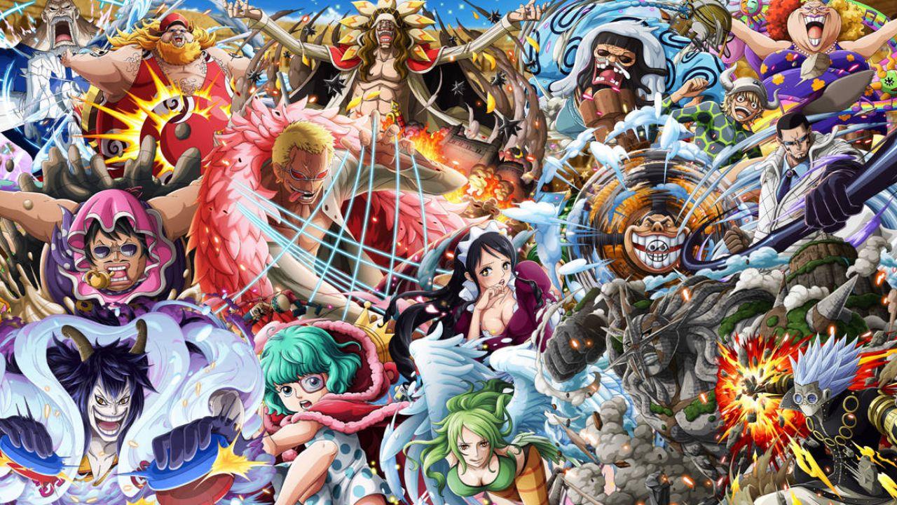 One Piece: La Famiglia Don Quijote messa a nudo grazie al nono pack delle Vivre Card