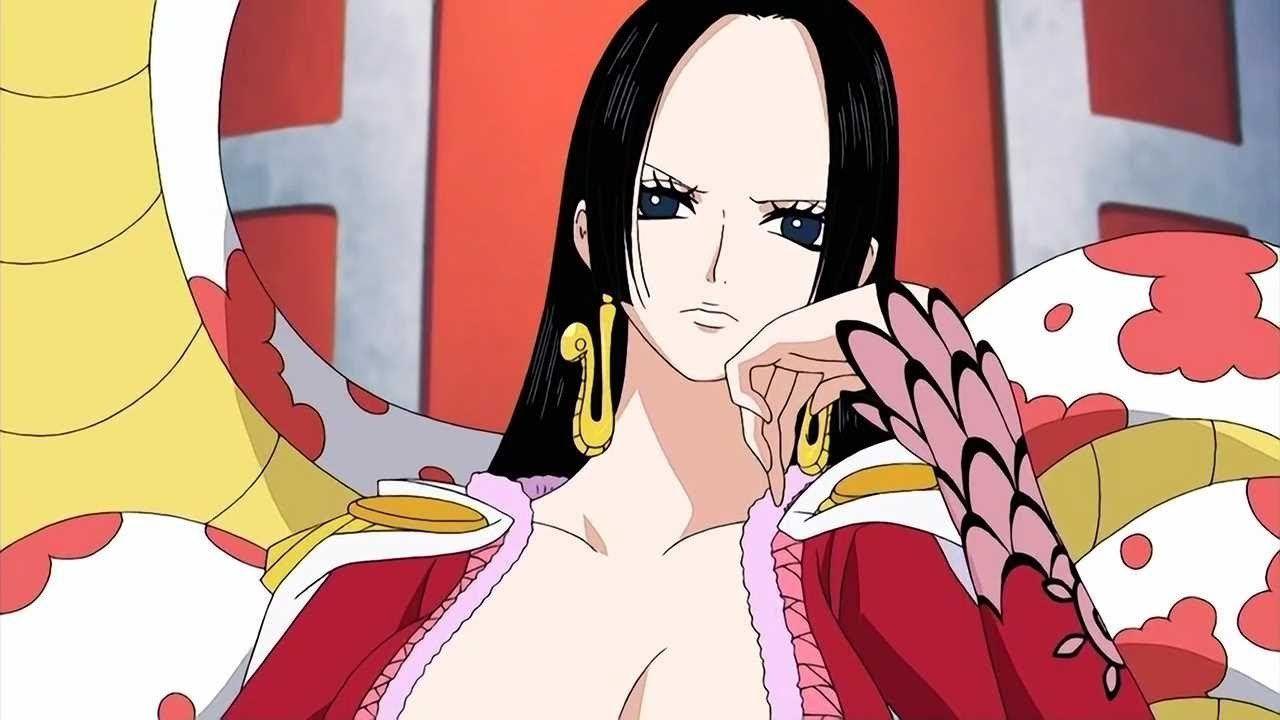ONE PIECE incontra Naruto: Boa Hancock diventa Orochimaru in una simpatica fanart