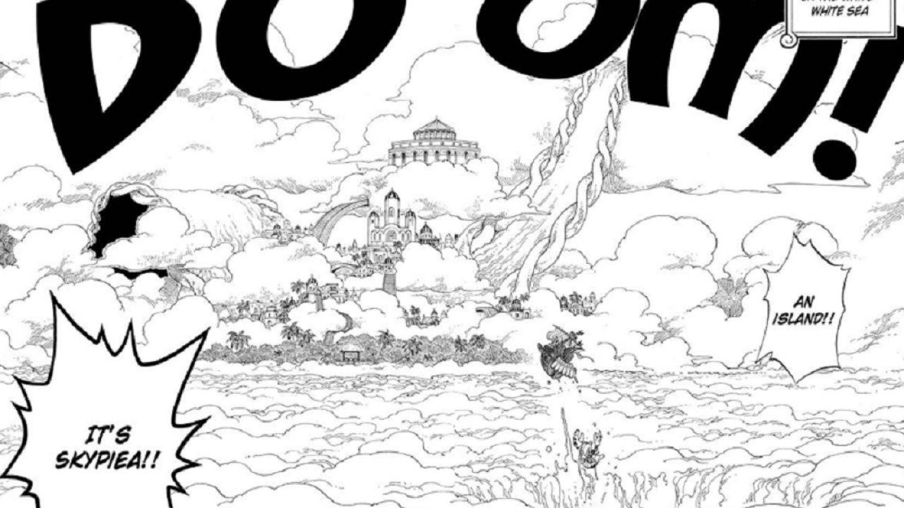 ONE PIECE: l'intera saga di Skypiea è disponibile gratis su Manga Plus