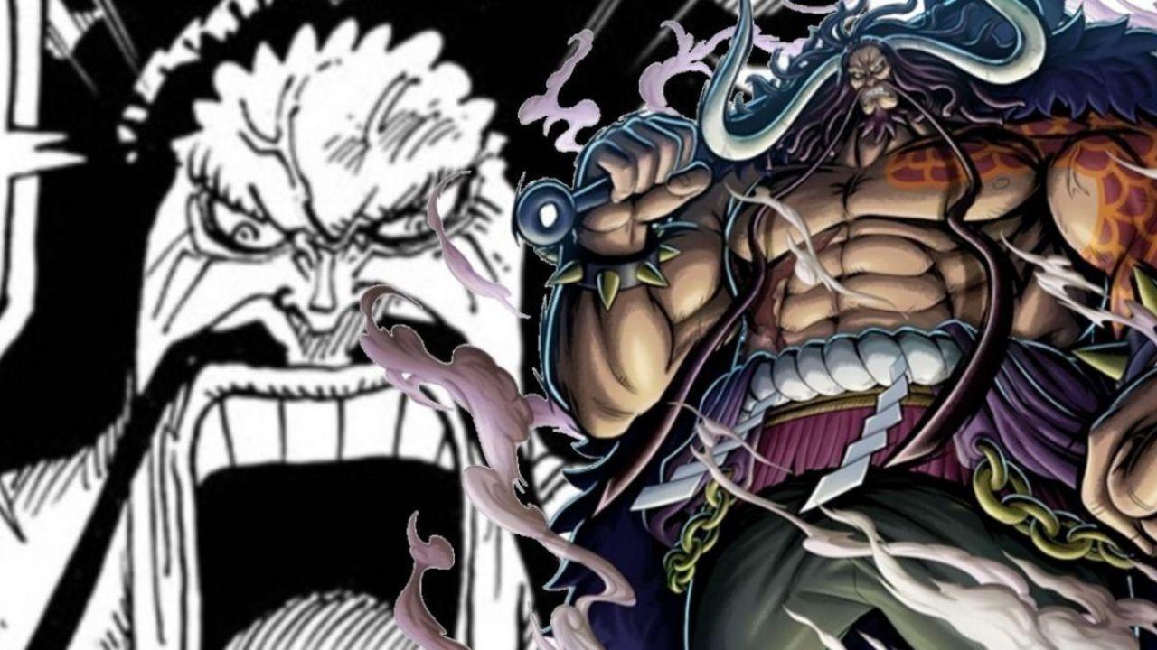 ONE PIECE: un manga fanmade ci mostra l'arrivo di Kaido durante gli eventi di Marineford