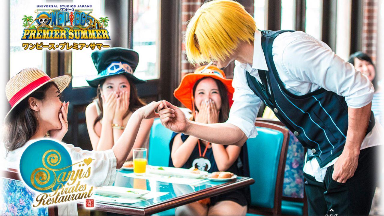 ONE PIECE, novità per l'Universal Studio Japan: in estate apre il ristorante di Sanji