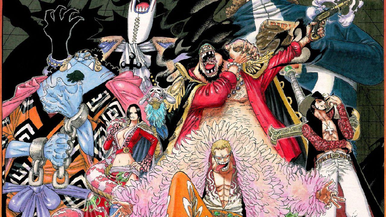 ONE PIECE: il nuovo capitolo ci ha rimostrato la Flotta dei Sette