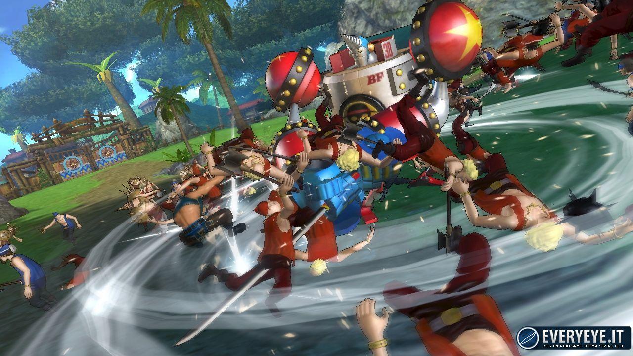 One Piece Pirate Warriors 2: disponibile oggi il primo DLC