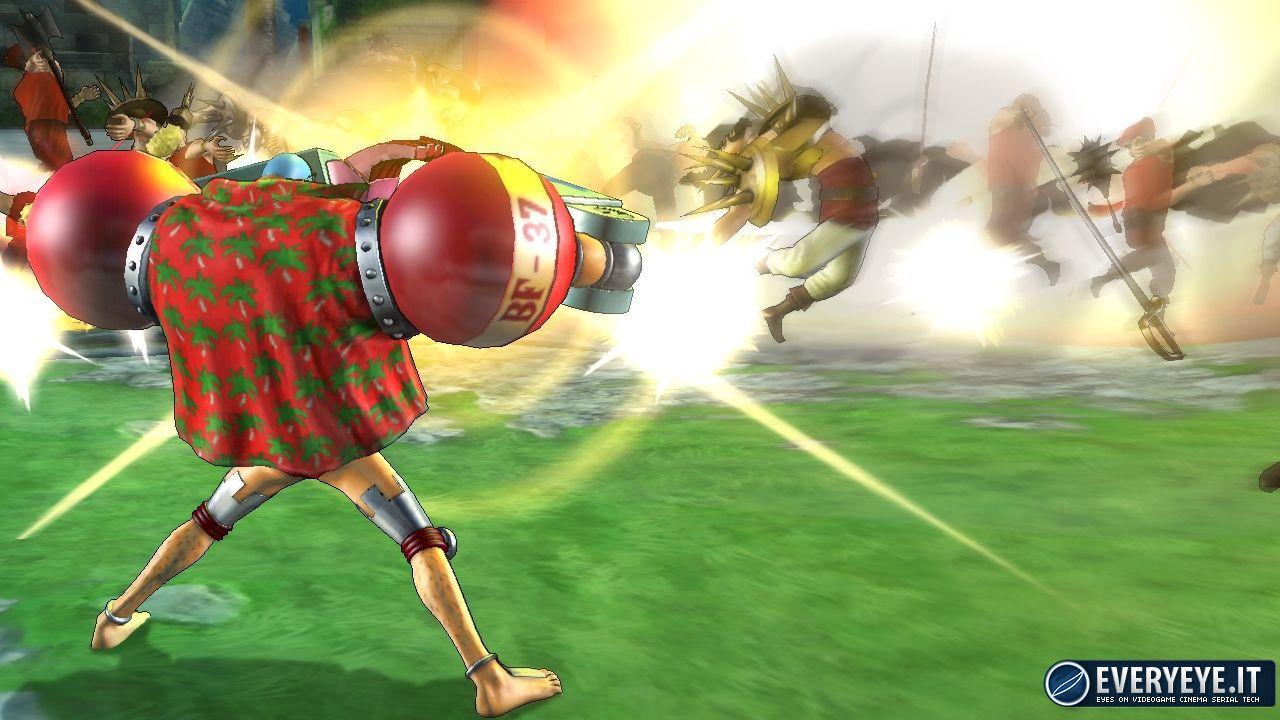 One Piece Pirate Warriors 2 al vertice della classifica italiana