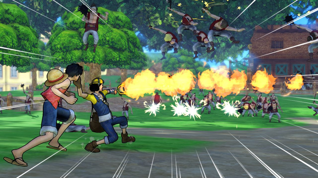 One Piece Pirate Warriors 3: quattro nuovo video gameplay