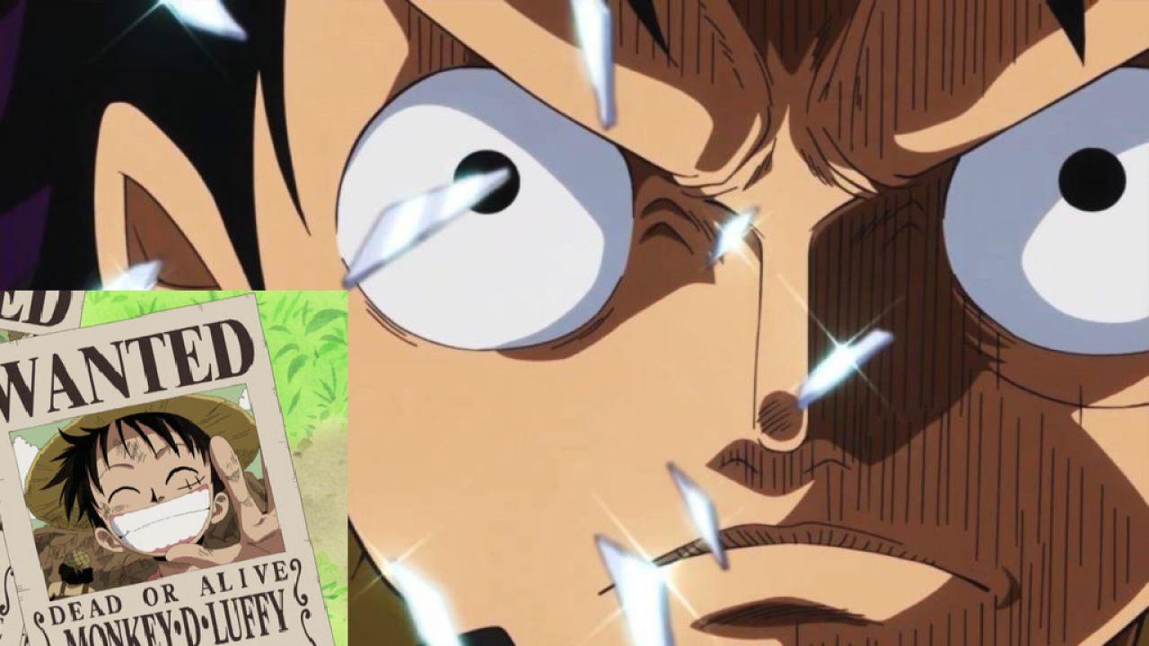 One Piece Ripercorriamo Tutte Le Taglie Di Monkey D Rufy