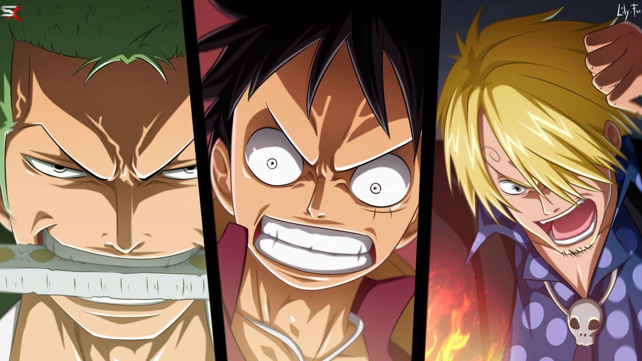 ONE PIECE: Rufy, Sanji e Zoro diventano degli Dei in queste magnifiche action figure