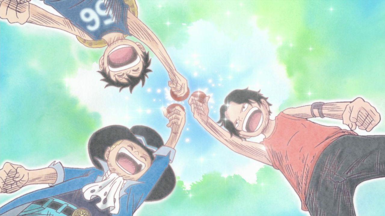 ONE PIECE: Sabo e Ace arrivano a Wanokuni in un nostalgico disegno di Oda