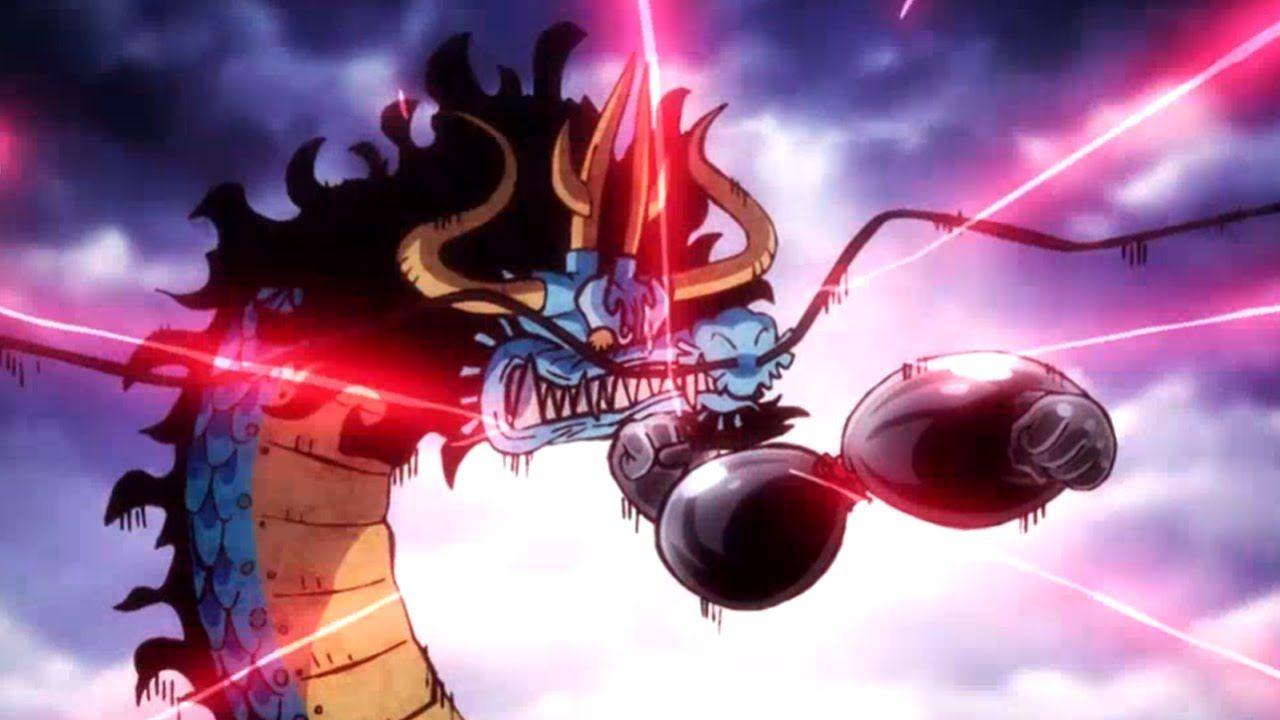 ONE PIECE: lo scontro tra Luffy e Kaido prende forma grazie a questa splendida figure