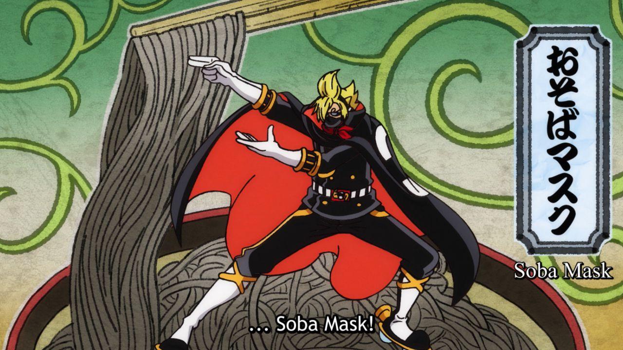 ONE PIECE: 'Soba Mask'? ecco come i Mugiwara volevano soprannominare Sanji