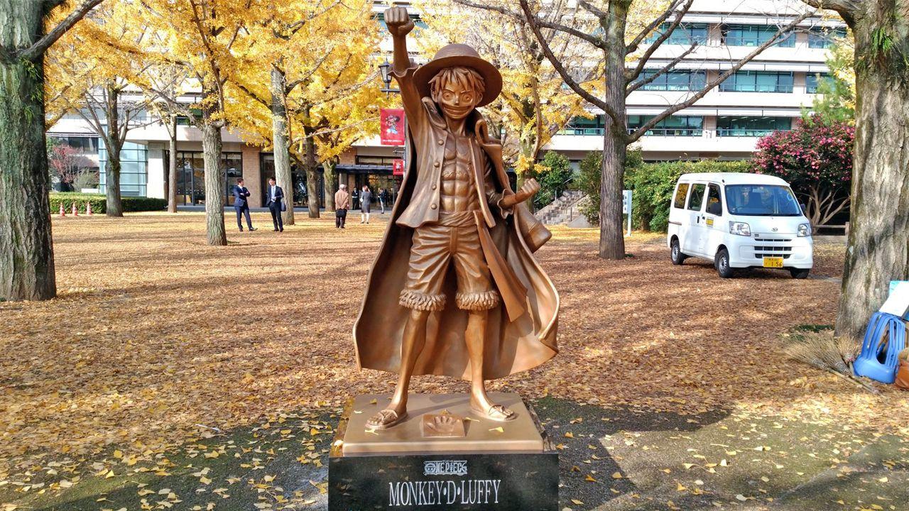 ONE PIECE: la statua di Luffy porta guadagni record alla prefettura di Kumamoto