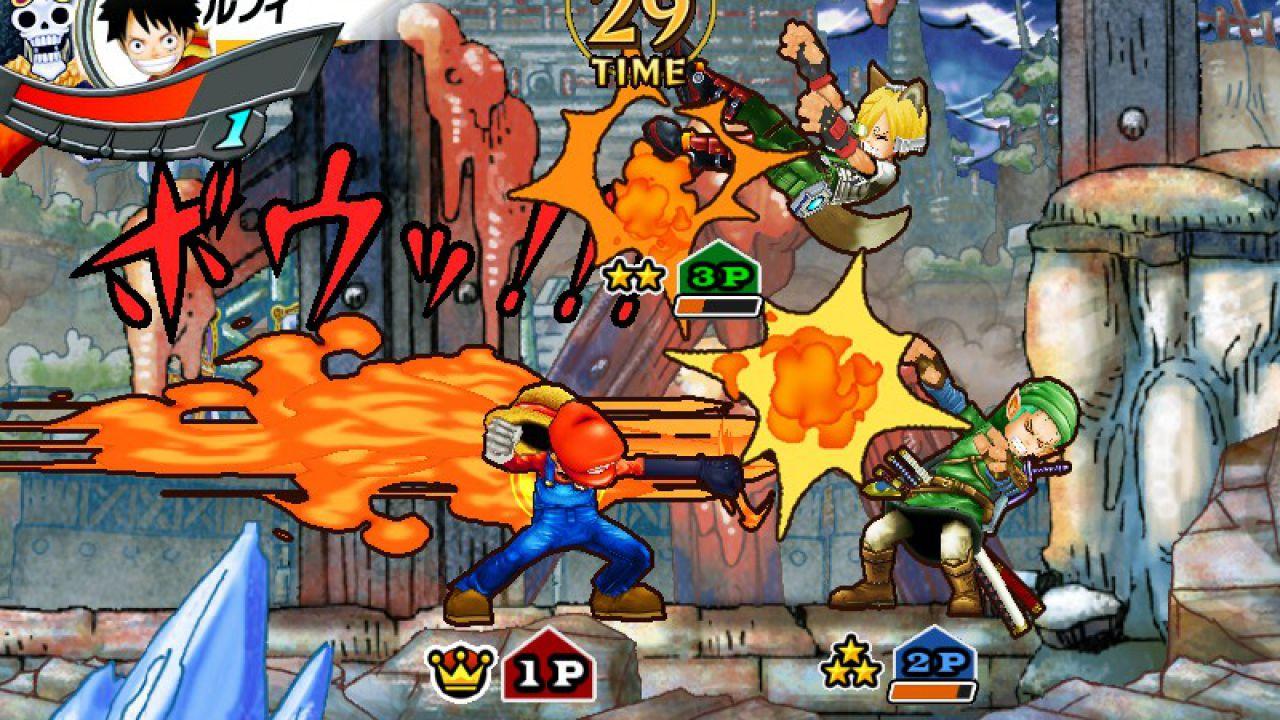 One Piece Super Grand Battle X si mostra in nuove immagini