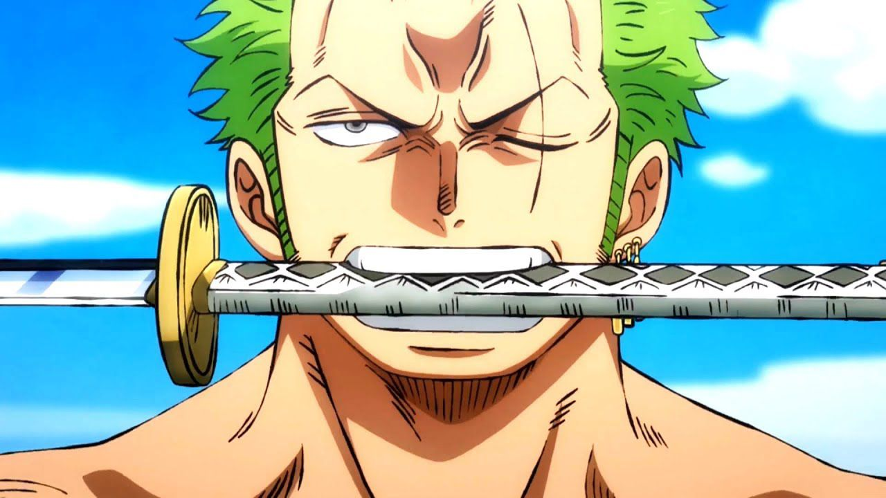 A Piece Zoro Lights The Preview Of Episode 934 Anime Sweet