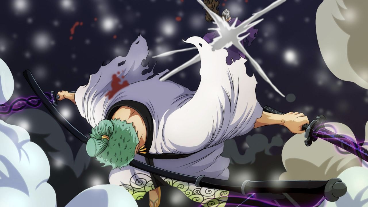 ONE PIECE: Zoro mostra le sue abilità contro Kamazo nell'ultimo episodio