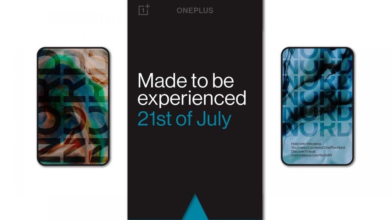 OnePlus Nord verrà lanciato con un evento mozzafiato in realtà aumentata