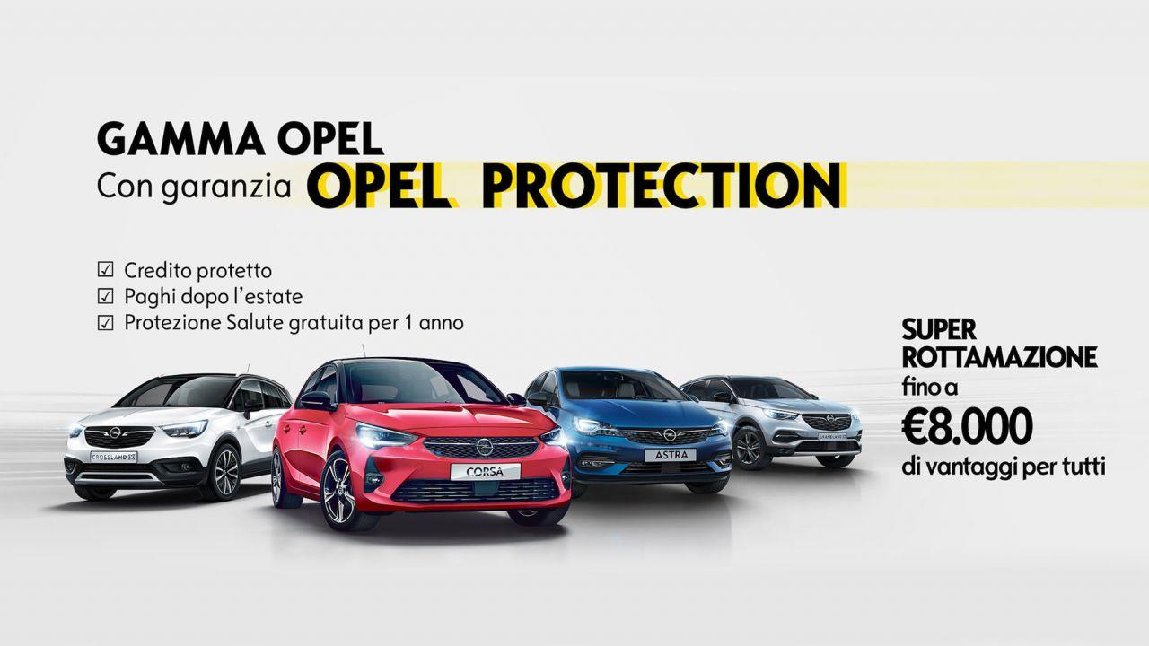Opel riparte con 8.000 euro di Super Rottamazione e prima rata dopo l'estate
