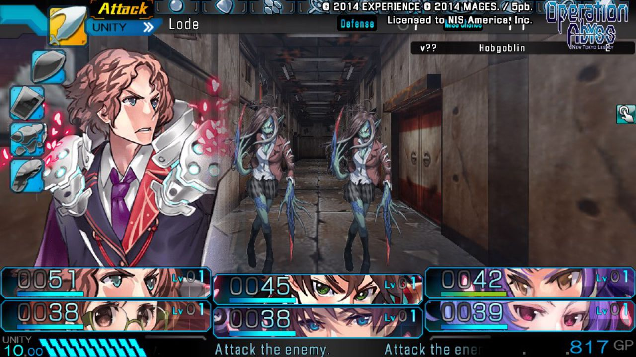 Operation Abyss New Tokyo Legacy arriverà in Europa ad aprile