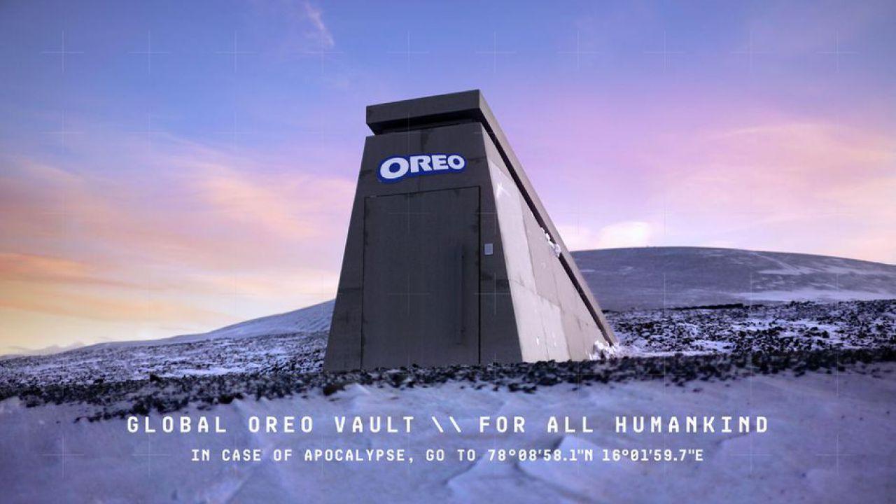 Oreo ha costruito un bunker per proteggere i suoi biscotti in caso di apocalisse