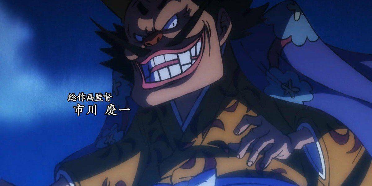 Orochi fa il suo debutto nell'ultimo episodio di ONE PIECE