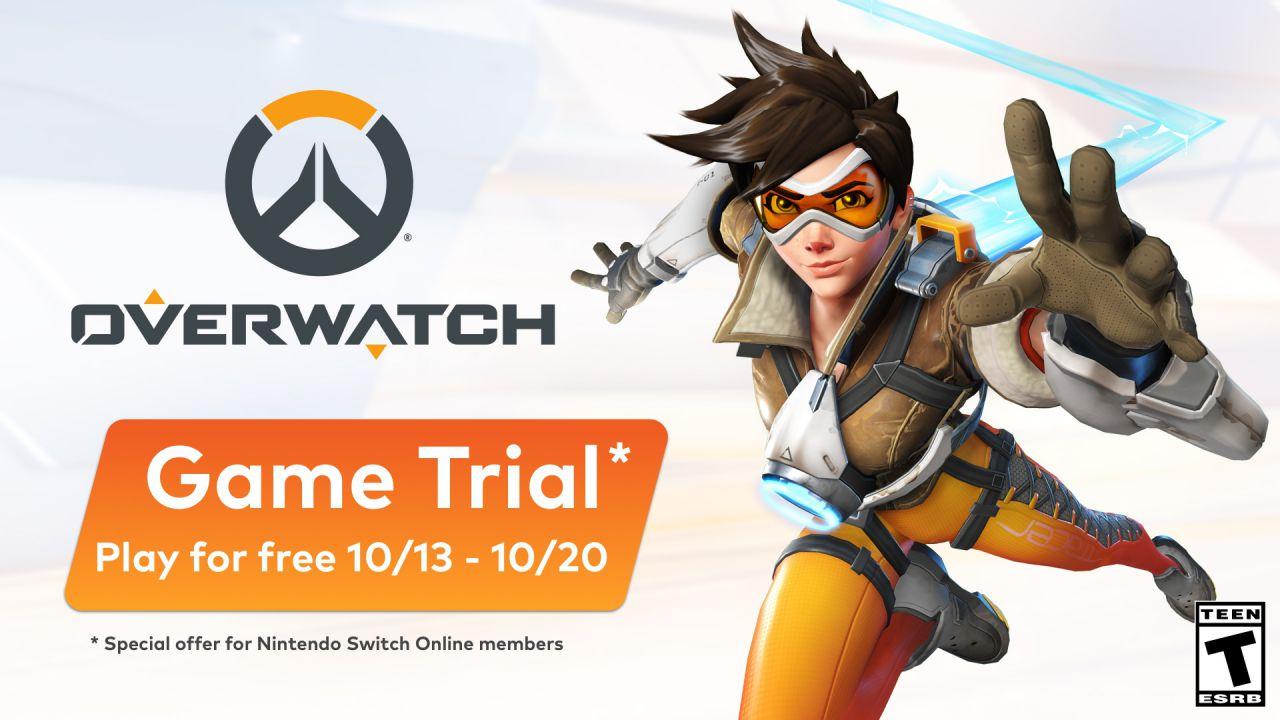 Overwatch giocabile gratis per una settimana grazie a Nintendo Switch Online