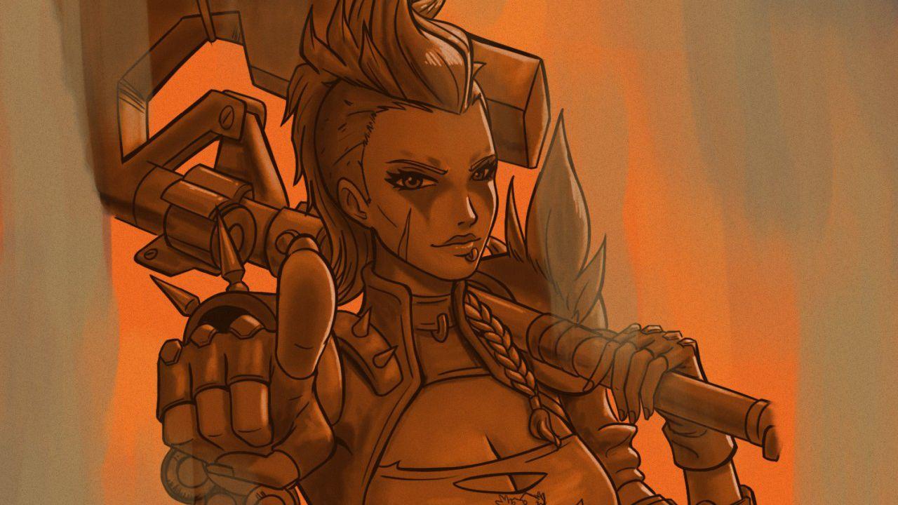 Overwatch: Junker Queen sarà uno dei prossimi eroi?