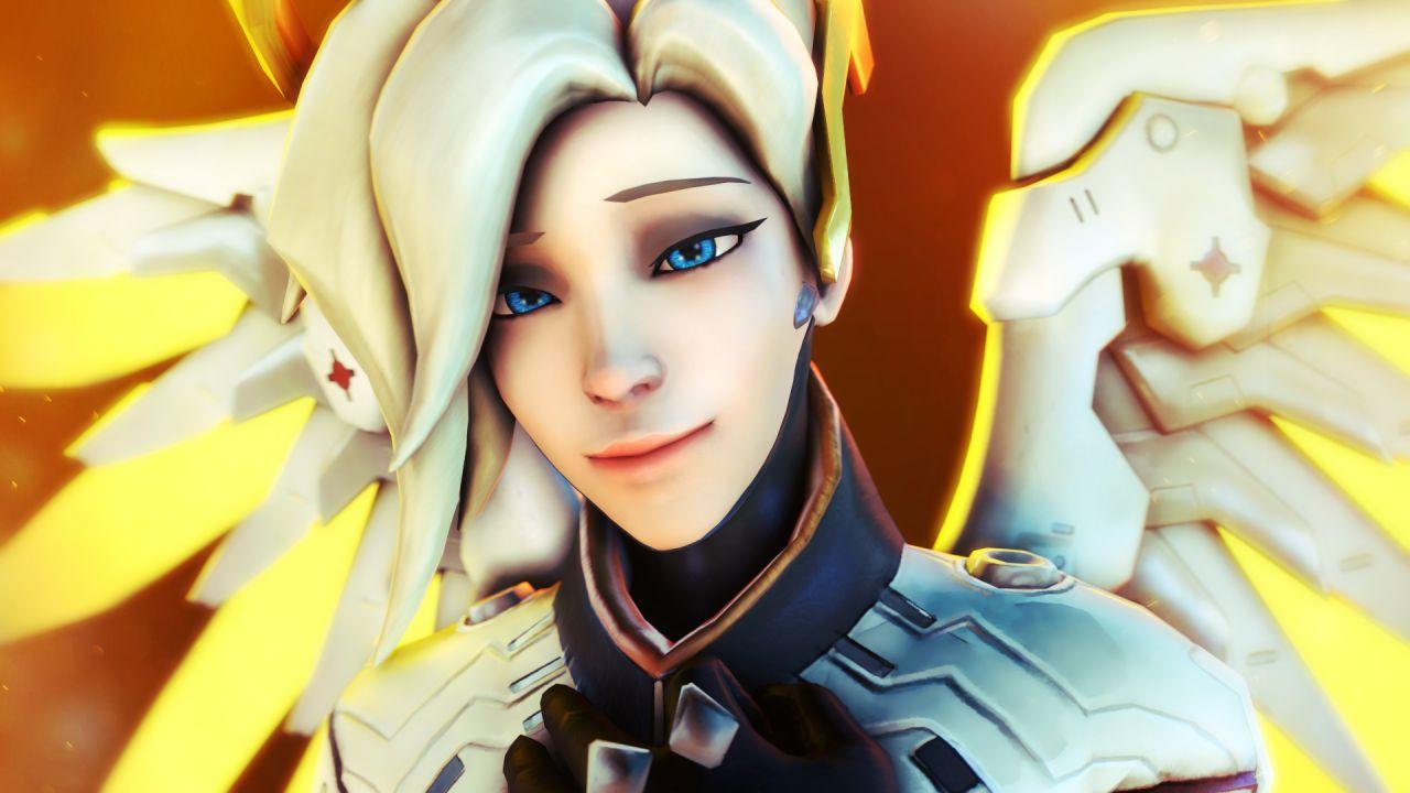 Overwatch: Mercy è vittima di un bug