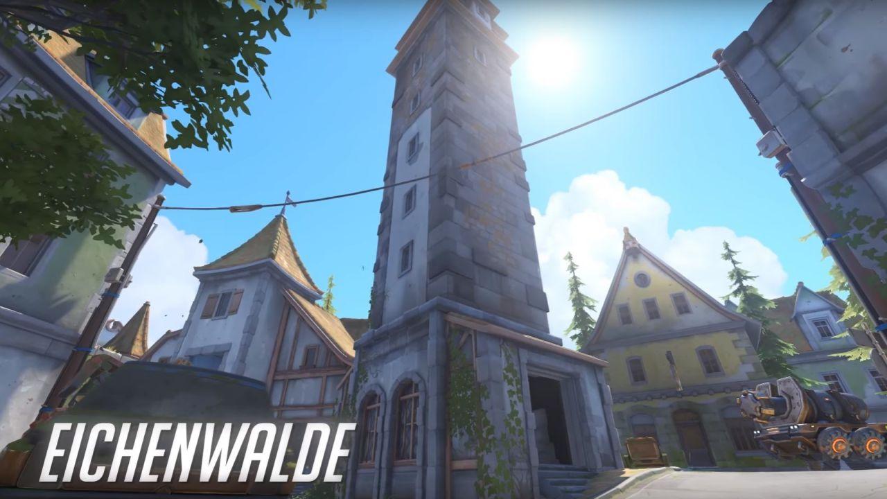 Overwatch: la nuova mappa Eichenwalde è ora disponibile nel PTR