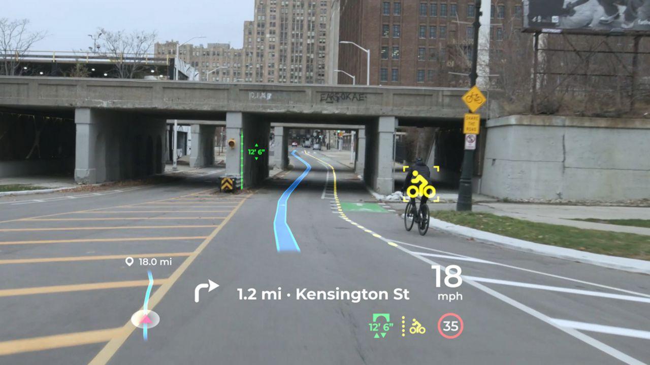 Panasonic rivela la sua HUD per auto: la prima immagine è notevole