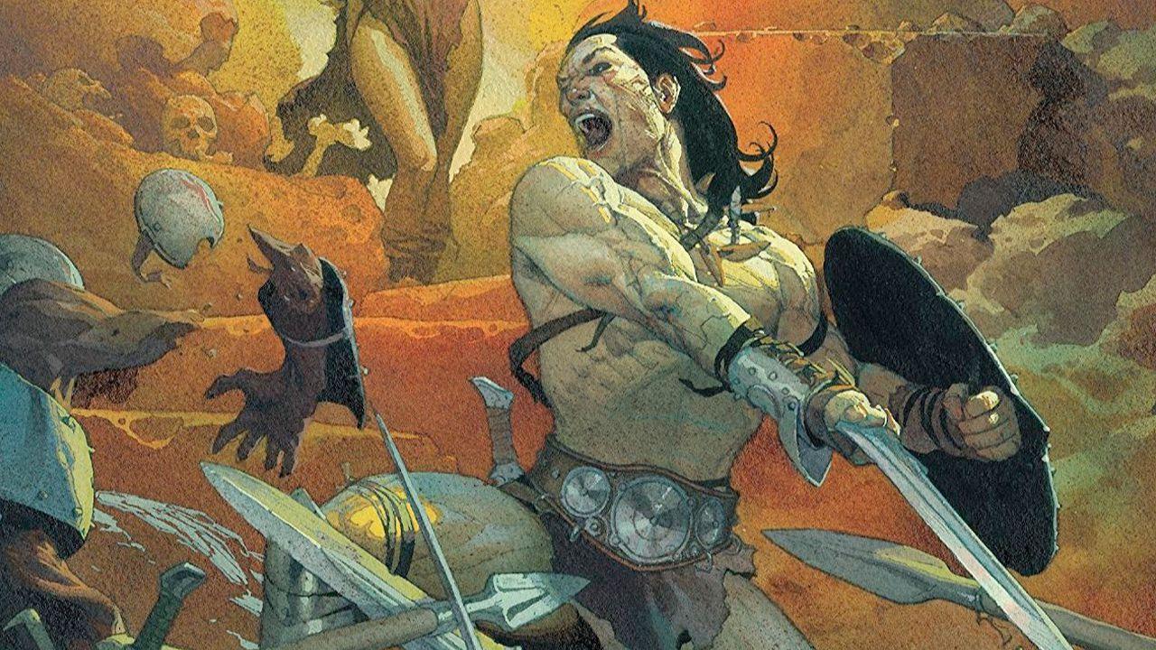 Panini Comics ha annunciato a Cartoomics una nuova collana dedicata a Conan il Barbaro