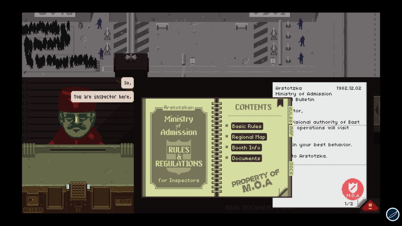 Papers, Please raggiunge i 500.000 download