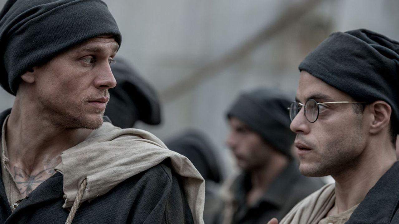 Papillon: Charlie Hunnam e Rami Malek nelle prime immagini del remake