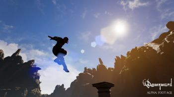 Parkour e antiche rovine nel primo trailer di Downward