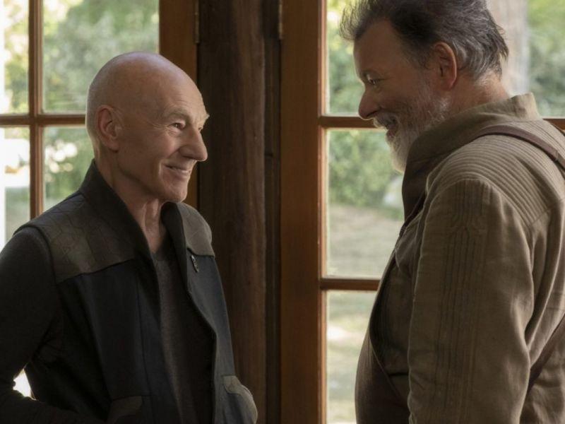 Patrick Stewart legge Shakespeare insieme al collega di Star Trek Jonathan Frakes