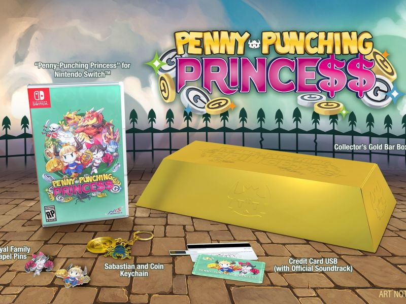 Penny Punching Princess: confermato il lancio in Europa su Switch e PS Vita