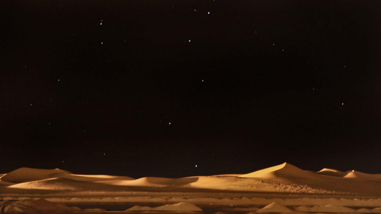 Perché nei deserti di tutto il mondo la notte c'è freddo?