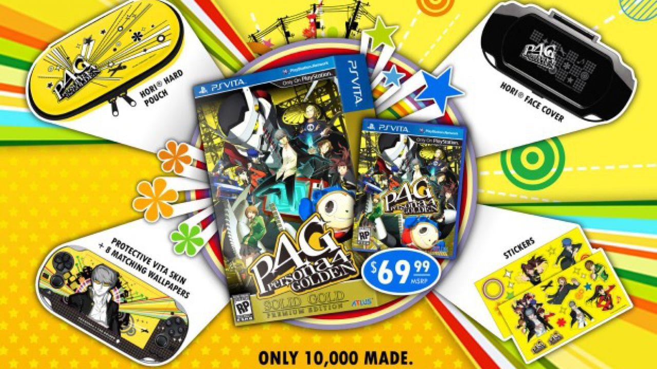 Persona 4 Golden: vendute più di 300.000 unità