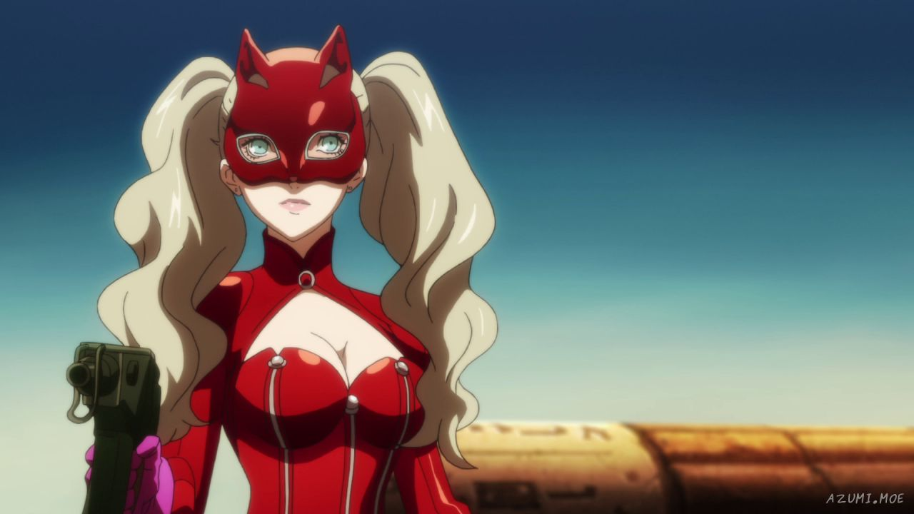 Persona 5: Ann Takamaki nel cosplay della russa Shirogane-sama