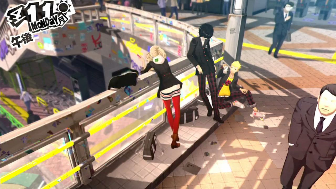 Persona 5: primo gameplay trailer sottotitolato in inglese