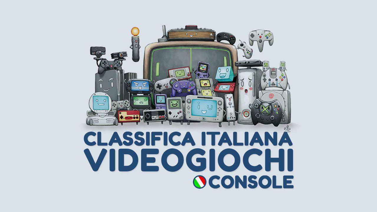 PES 2016 debutta al primo posto della classifica software italiana per console
