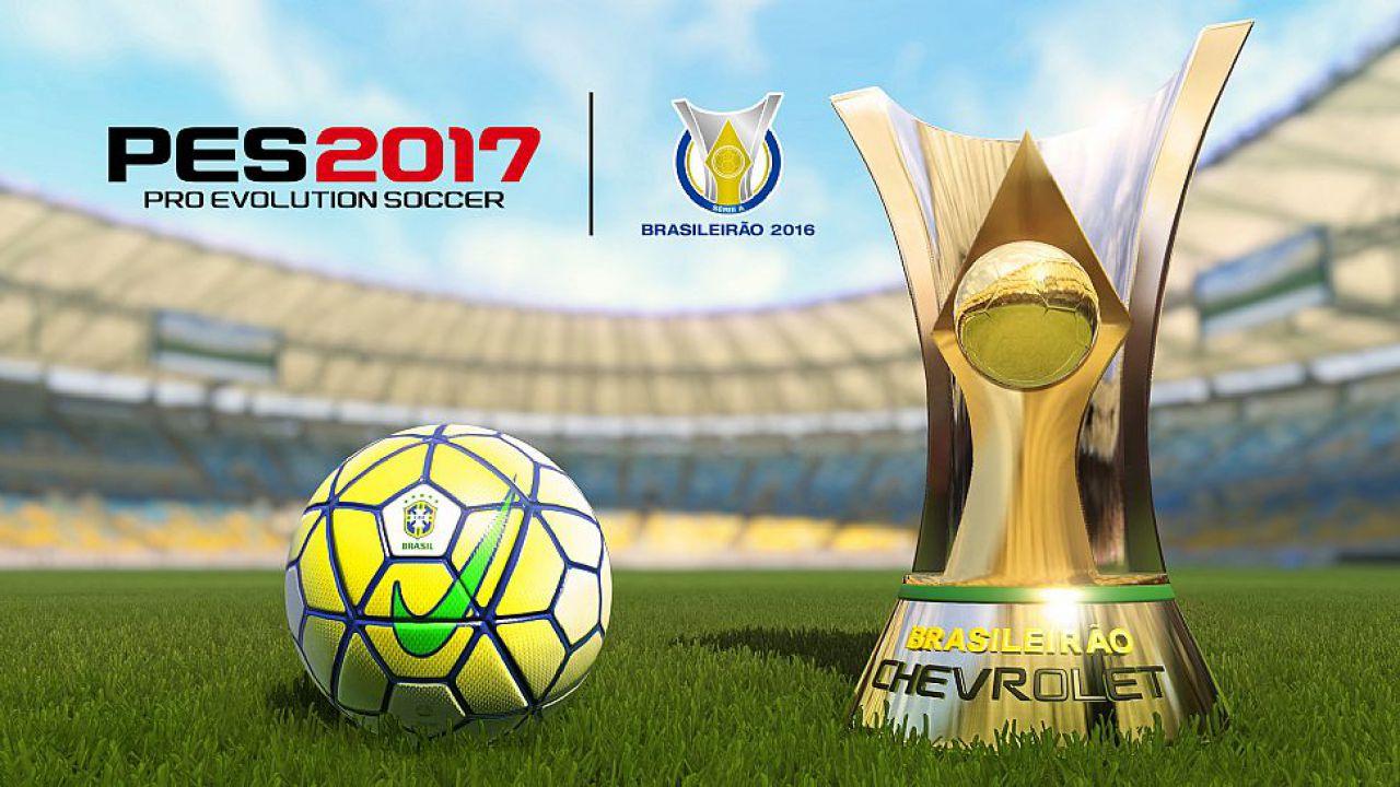 PES 2017: annunciata la partnership per il Campionato Brasiliano