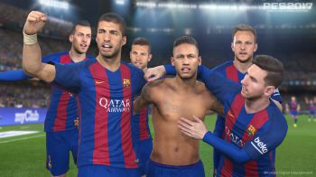 PES 2017: Barcellona e Atletico Madrid si sfidano in questo nuovo video gameplay